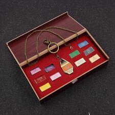 Anime Digimon Tag Box Schmuck Set Halskette Schlüsselanhänger Pullover Kette DIY