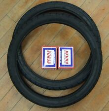 TWO Mitas B8 B-8 Motorcycle Moped Tire 2.50X16 2 1/2 X 16 Front Rear with Tubes!