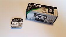 5x Pila Boton Maxell 315 - SR716SW - 1,55V