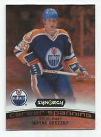 2017-18 UD Synergy Career Spanning #CS1 Wayne Gretzky Edmonton Oilers