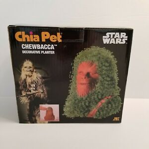 Star Wars Chewbacca Chia Pet Decorative Planter Star Wars Chewy