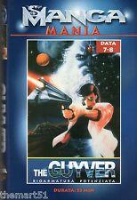MANGA MANIA - The Guyver Bioarmatura Potenziata Data 7  8  (1997)   VHS
