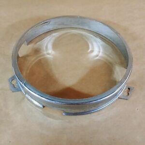 """Jaguar XJ6 Original Inner Headlight Inner Ring 5.75"""" Chrome Trim OEM"""