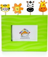 Mousehouse Gifts Kids Safari Themed Photo Frame for Boys or Girls
