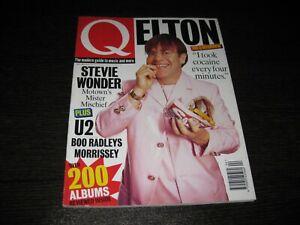 Q Magazine Elton Stevie Wonder U2 Boo Radleys Morrissey Nº 103 April 1995