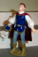 "Prince Charming Holding Hat Snow White 3.5"" PVC Figure Disney FREE SHIP GREAT"