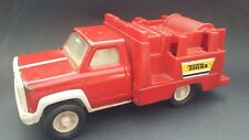 """Vintage 7.5"""" long Tonka truck, possibly fire truck or work truck?"""