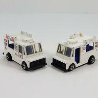 Lot of 2 Vintage 1983 Hot Wheels Good Humor Ice Cream Trucks Diecast