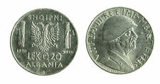 pcc1712_5) ALBANIA Vittorio Emanuele III  (1939-1943) 0,2 LEK 1940