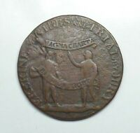 1794 Great Britain - Middlesex Erskine & Gibbs Halfpenny Token, DH-1012.