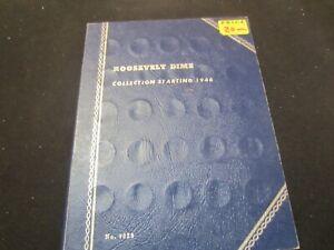 Whitman Album # 9029 Roosevelt Dimes  1946-