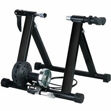 Magnetic Exercise Bike Stand Stationary Bicycle Roller Converter Stand Black NEW