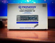PIONEER KEH-P6200-W Vintage Stereo Cassette & Radio 🔥ULTRA RARE🔥