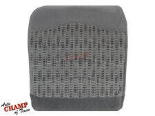 99 00 Ford F250 F350 XLT -Driver Side Bottom Replacement Cloth Seat Cover Gray