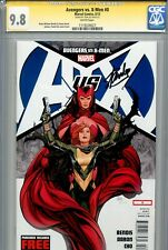 Avengers vs X-Men 0 CGC 9.8 SS Stan Lee Wolverine Iron Man Ms Marvel Phoenix WP