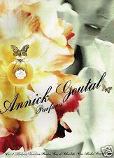 Publicité advertising 1991 Parfum Eau d'Hadrien par Annick Goutal