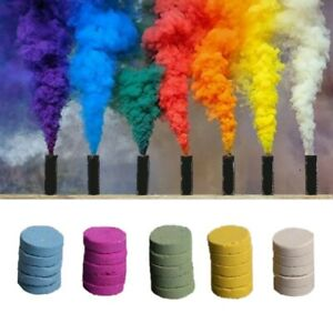 5X Multi-Colors Smoke Effect Cake Shows Bomb Stage Photography Party Celebratein