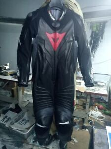 Dainese Laguna Seca Evo 1 Piece Suit Motorcycle Bike Leather