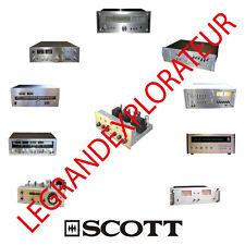 Ultimate H.H Scott Operation Repair Service schematics manuals  280 manual s DVD