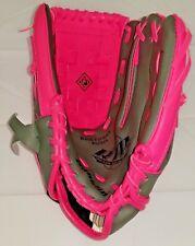 FRANKLIN Girls Pink & Gray Baseball Glove-10 1/2- RTP 22700 Left Handed.
