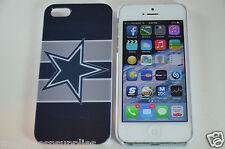 Dallas Stars NFL Football Hard Plastic Full Back Case Apple iPhone SE 5S 5G 5