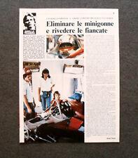 AP80- Clipping-Ritaglio -1982- L'ULTIMO SALUTO A GILLES VILLENEUVE 18-25 MAGGIO