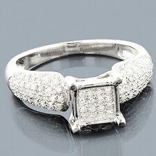 Echtschmuck Ringe Diamanten 925er Sterlingsilber  Brillanten Damenring