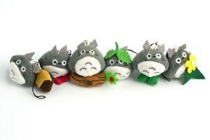 Kuscheltier Totoro Schlüsselanhänger Handy Hayao Miyazaki Studio Ghibli Plüsch