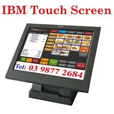 "used IBM 15"" Touch Screen LCD Monitor for POS Point of Sale System"