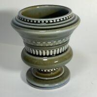 VTG Wade Irish Porcelain SHAMROCK Pinch Bowl Toothpick Holder GREEN Blue IRELAND