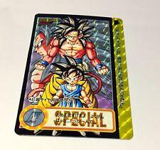 Carte dragon ball dbzstars Fancard Prism carddass hondan Custom Card AF A1 YJJ