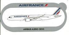 NOUVEAU ! A350-900 AIR FRANCE AIRBUS STICKER AUTOCOLLANT -  NEUF