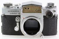 Miranda Automex III 3 CdS Gehäuse Body Spiegelreflexkamera SLR Kamera lesen!