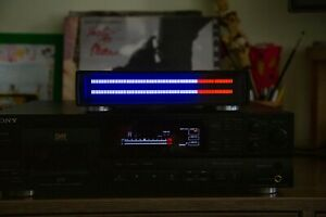 SG L160 LED stereo VU METER WITH ENCLOSURE BLUE+RED COLORS
