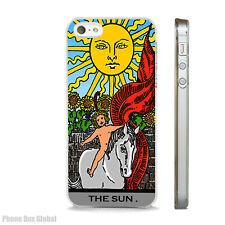 NEW THE SUN TAROT CARD PHONE CASE FITS IPHONE 4 4S 5 5S 5C 6 6S 7 8 SE PLUS X