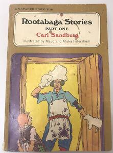 Carl Sandburg, Miska Petersham - Rootabaga Stories Part One - Free Shipping!