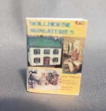 Dollhouse Miniature 1:12 Scale Dollhouse Miniatures Book