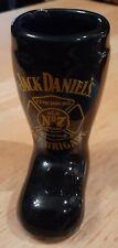 Jack Daniels Fire Brigade Boot Shot Glass NEW Lynchburg Tennessee