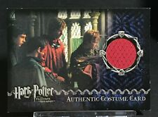 Harry Potter Costume Card George Weasley Quidditch #1226 Oliver Phelps Azkaban