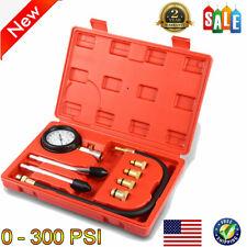 Car Auto Engine Cylinder Pressure Gauge Compression Tester Diagnostic Tool Kit