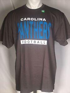 Carolina Panthers Junk Food NFL Grey Men's T-Shirt XL NWT