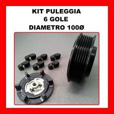 KIT PULEGGIA COMPRESSORE ARIA CONDIZIONATA AUDI A6 3.0 TDI DAL 2004 4F0260805S