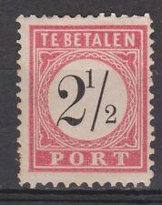 Port 5 C type 1 MLH PLAATFOUT Nederlands Indie Netherlands Indies ZELDZAAM RARE