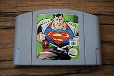 Jeu SUPERMAN pour Nintendo 64 N64