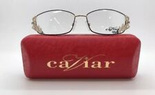 CAVIAR M5586 C.24 EYE GLASSES w. AUSTRIAN CRYSTALS EYEWEAR 55-16-120 NEW w. CASE