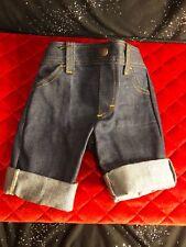 Vintage Blue Denim Pants 9 Month Boy 1970's Cee Tee Playwear