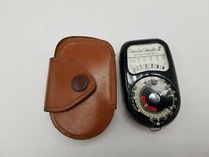 Vintage Weston Master III Model S141-3 Universal Exposure Light Meter