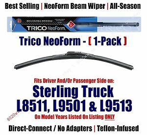 Qty 1 Premium NeoForm Wiper fit 1999-2000 Sterling Truck L8511 L9501 L9513 16200