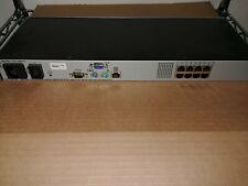 Dell CMN 1012 8 Port KVM + 8 OUF366 System Interface Pods