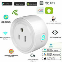 US Plug WiFi Smart Socket Remote Timing Timer Switch Power Adapter APP Control